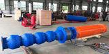 Finish Assembly of 6KV High Voltage Submersible Deep Well Pump